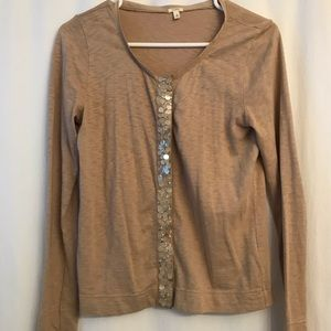 Sweaters - J. Crew Sequin Cardigan